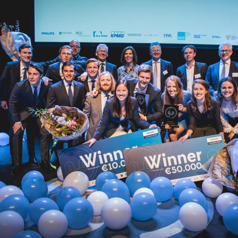 Closure en Circal Technologies winnaars 2018 Philips Innovation Award