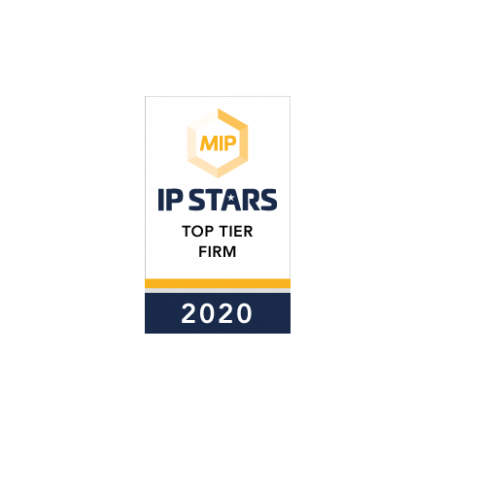 A&S Tier 1 ranking patent prosecution IP Stars 2020 Netherlands & Belgium!