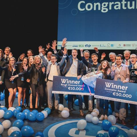 BI/OND en Hable winnaars 2019 Philips Innovation Award